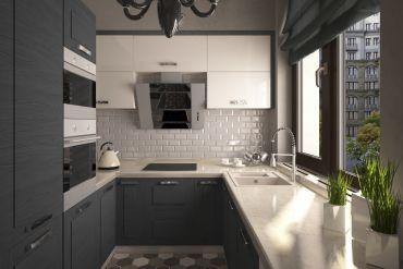 Школа дизайна: 10 вариантов небольших кухонь.