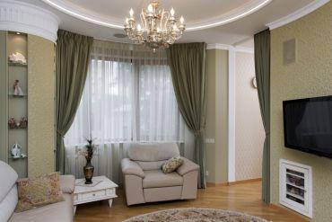 Современная классика: интерьер квартиры в Москве.